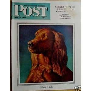 Saturday Evening Post Magazine (May 15, 1943) RUTHERFORD BOYD Books