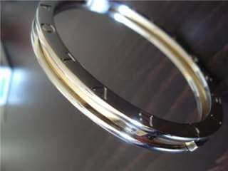 ORIGINAL BLVGARI 18kt GOLD B.ZERO BRACELET RETAIL $3,400 BULGARI MAKE