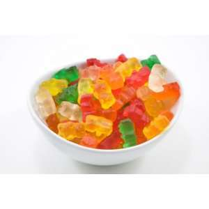 Gummy Bears (10 Pound Case):  Grocery & Gourmet Food