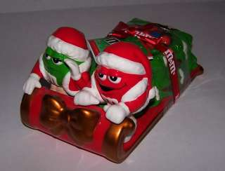Christmas Tree Candy Dish Mr/Mrs Santa Claus