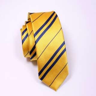 Harry Potter hufflepuff Costume Set Neck Tie + Scarf T