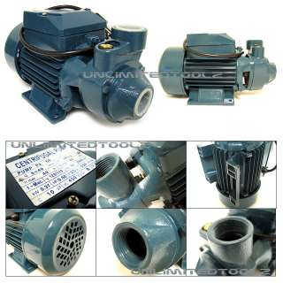 2HP ELECTRIC WATER PUMP INDUSTRIAL POND/POOL/FARM