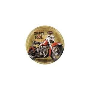 Harley Davidson 9 Plates