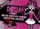 MONSTER HIGH draculaura pink girl CUSTOM PERSONALIZED BIRTHDAY PARTY