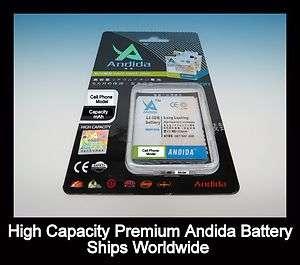 Galaxy S2 i727 Skyrocket 2250mAh Extended High Capacity Slim Battery