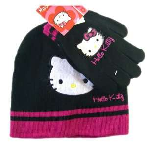 Kitty Winter Set (2 pc)   Hello Kitty Beanie and Mittens Toys & Games