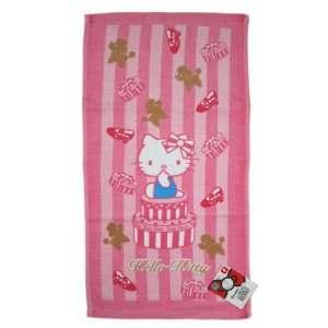 Pink Shoe Box Hello Kitty Bath Towel   Pink Hello Kitty