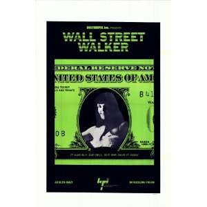 Wall Street Walker  Original & Vintage Movie Poster