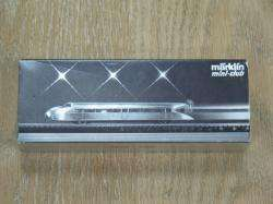 MARKLIN MINI CLUB 8876 Z SCALE MODEL TRAIN LOCOMOTIVE   SILVER RAIL