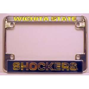 Shockers Chrome Motorcycle RV License Plate Frame Sports & Outdoors