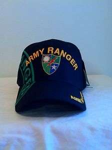 US ARMY RANGER BALL CAP MILITARY HAT