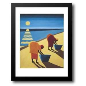 : Beach Bums 14x16 Framed Art Print by Willis, Tilly: Home & Kitchen