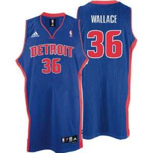 Rasheed Wallace Jersey adidas Blue Swingman #36 Detroit Pistons