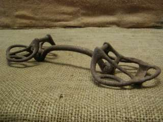 Vintage Iron Horse Harness Bit Antique Rare Design Wagon Western