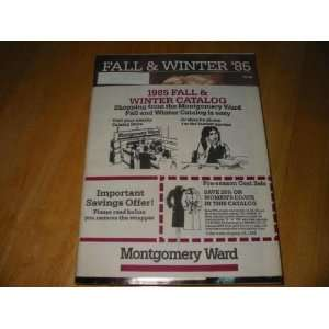 Montgomery Ward Catalog Fall and Winter 1985 Unknown