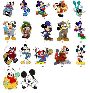 Mickey Mouse Birthday Return Address Labels Gift Favor