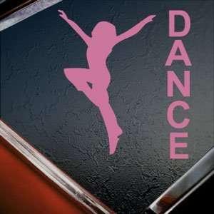 Dance Dancing Pink Decal Car Truck Bumper Window Pink