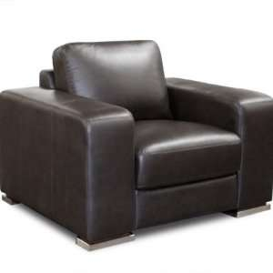 Hudson Living Room Chair in Mocca