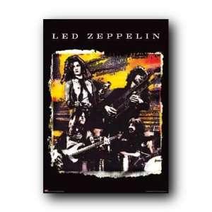 Led Zeppelin Group Rock Music Subway New Poster Stmr969