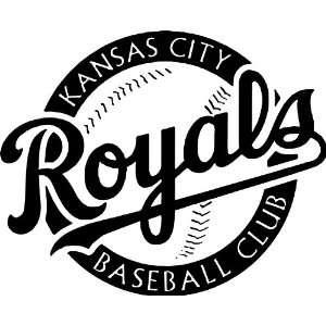 City Royals MLB Vinyl Decal Sticker / 12 x 14.8