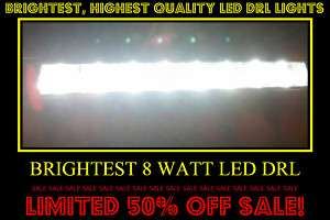 MERCEDES BENZ AMG OEM STYLE LED DRL FOG DRIVING LIGHT