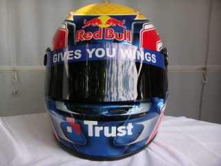 MARK WEBBER 2009 F1 REPLICA HELMET FULL SIZE HELM