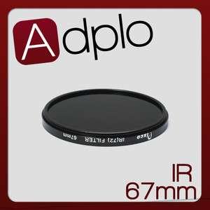 67mm 67mm Infrared Infra Red (IR) Filter 720nm for lens