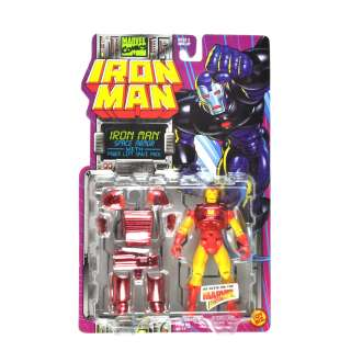 Toy Biz Marvel Comics Iron Man Space Armor with Power Lift Space Pack