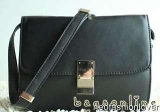 New Real Calfskin Leather Gossip Girl Vintage Clutch Shoulder Bag 5
