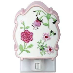 Kids Line Julia Night Light, Pink/Maroon Baby
