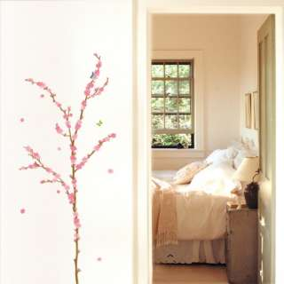 Japanese Apricot Flower WALL STICKER Removable Decal
