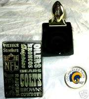 1976 LOS ANGELES RAMS AVON DECANTER BOTTLE  VERY GOOD |