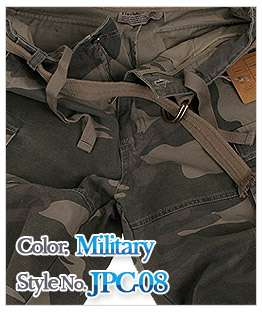 jeje Mens Belted Cargo Short Pants Various Style&color
