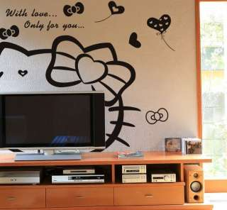 TV Sofa Backdrop Bedroom Living Room Wall Stickers Decor Decals