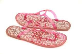 New Michael Kors *JOE* Jelly Thong Sandal Slide Flip Flop Flat ~Hot