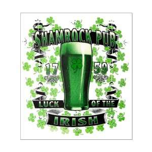 Small Poster Shamrock Pub Luck of the Irish 1759 St Patricks Day Four