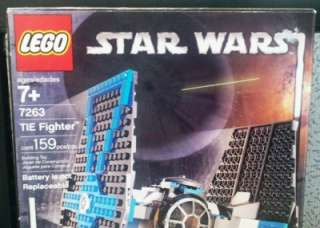 Lego Star Wars Set # 7263 TIE Fighter Classic RARE Darth Vader Pilot