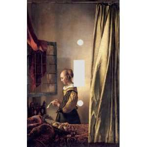 Johannes Vermeer Girl Reading a Letter Decorative Switchplate Cover