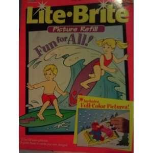Lite Brite Picture Refill Toys & Games