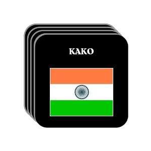 India   KAKO Set of 4 Mini Mousepad Coasters Everything