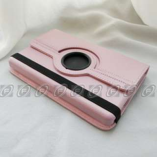 Kindle Fire 360° Rotating PU Leather Case Cover with Stand