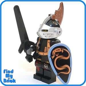 C334 Lego Kingdoms Dragon Knight Minifigure   Copper NEW