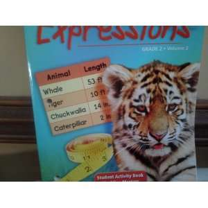 com Math Expressions Grade 2 Volume 1 (Student Activity Book, Volume