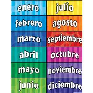 Teacher Created Resources Months of the Year (Spanish