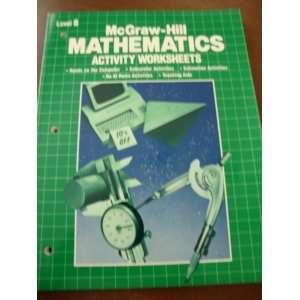 Mathematics Activity Worksheets Level 8 (9780070128019