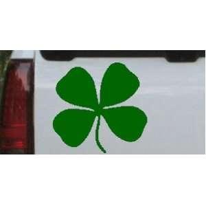 18in X 17.4in    Four Leaf Clover Car Window Wall Laptop Decal Sticker