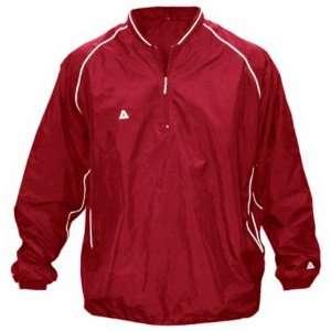 Akadema Baseball/Softball Batting Jacket RED AM Sports