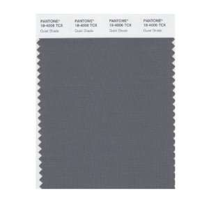 Pantone 18 4006 TCX Smart Color Swatch Card, Quiet Shade