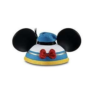 Park Exclusive Donald Duck Mickey Mouse Ears Hat NEW