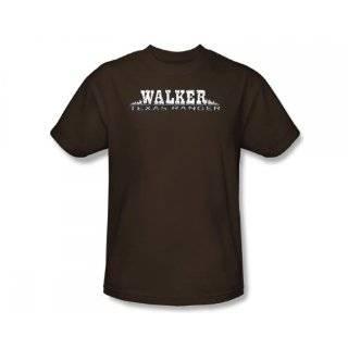 Walker Texas Ranger Logo Chuck Norris TV Show T Shirt Tee